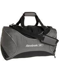 Reebok V Series Small Duffle,gunmetal,one Size - Black