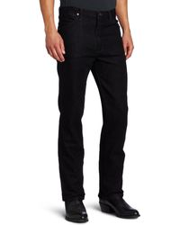 Wrangler 's Western Slim Fit Boot Cut Jean - Black