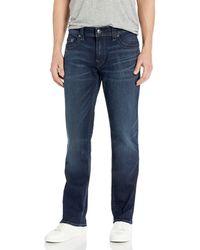 True Religion Geno Slim Fit Jeans - Blau