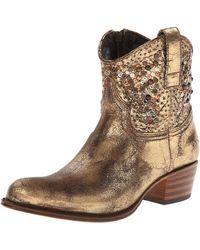 Frye Deborah Studded Boot - Metallic