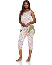 Ellen Tracy - Geo Tank Pajama Set - Lyst