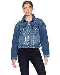 Hudson Jeans - Rei Cropped Jacket - Lyst