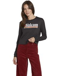 Volcom The Stones Long Sleeve - Black