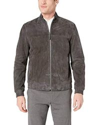 Goat Jacket Leather Suede Gray Tremont vm8wONn0