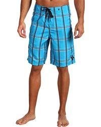 Hurley Puerto Rico Suede Boardshort - Blue