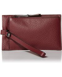 Vince Camuto Womens Jann Wallet - Red