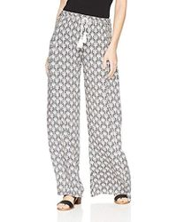 O'neill Sportswear - Madalyn Printed Drawstring Pant, Naked/winter White, L - Lyst