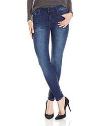 Kensie - 28 Inch Inseam Skinny Jean Ankle Biter - Lyst