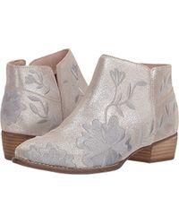 Seychelles - Lantern (silver Leather) Women's Boots - Lyst
