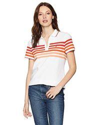 Nautica - Classic Heritage Short Sleeve Polo Shirt - Lyst