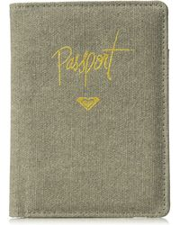 Roxy Junior's Live Your Dreams Passport Case - Gray