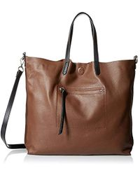 Linea Pelle - Hunter Tote, Chocolate - Lyst