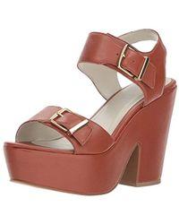 Kenneth Cole - Shayla Platform Sandal Heeled - Lyst