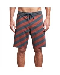Rip Curl Mens Sun Drenched Layday 19 Side Pocket Boardshort Swim Trunks