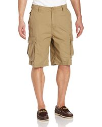 Nautica Ripstop Cargo Short - Natural