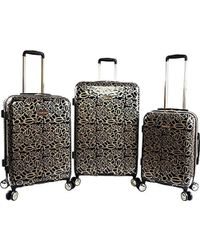 Bebe - Annabelle 3 Piece Set Suitcase With Spinner Wheels - Lyst