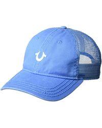 Lyst - True Religion Graffiti Print Bucket Hat in Black for Men b7504d3c2473