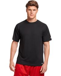 Russell Athletic Dri-power Performance Mesh T-shirt - Black