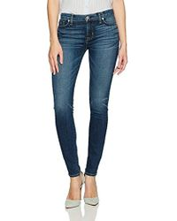 Hudson Jeans Womens Nico Midrise Ankle Super Skinny Soft Vintage Jeans