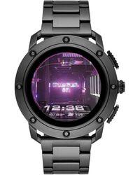 DIESEL On Gen 5 Axial Hr Heart Rate Stainless Steel Touchscreen Smart Watch - Metallic