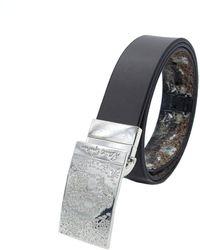 Robert Graham Blackburn Belt Grey