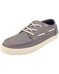 TOMS Mens Dorado Boat Shoe - Gray