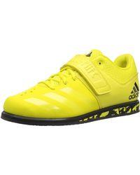 adidas Powerlift.3.1 Cross Sneaker - Yellow