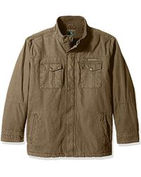 G.H.BASS - Big And Tall Solid Field Jacket - Lyst
