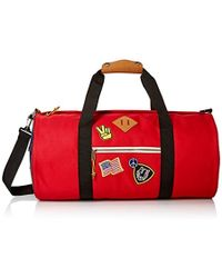 Steve Madden - Overnighter/duffle Bag, Red - Lyst