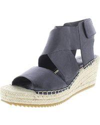 9e35a85f9d2 Lyst - Eileen Fisher Spree Platform Sandal Quartz Leather in Natural