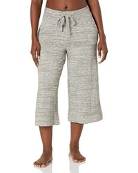 Mae Standard Supersoft French Terry Cropped Lounge - Gray