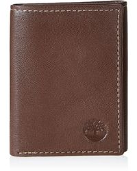 Timberland 100% Genuine Leather Portefeuilles - Marron