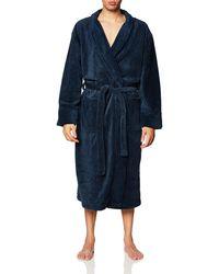 Hanes Cozy Fleece Robe - Blue