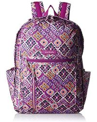 5d1d29a4f7ef Lyst - Vera Bradley Lighten Up Large Backpack