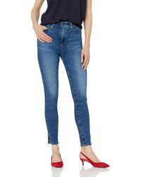 AG Jeans Mila Super High-rise Skinny Ankle - Blue