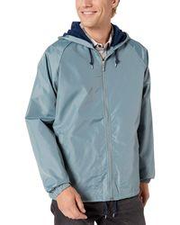 Brixton Mens Mercury Standard Fit Windbreaker Jacket