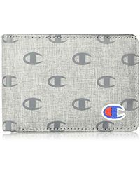 Champion Rhyme Bifold Wallet - Gray