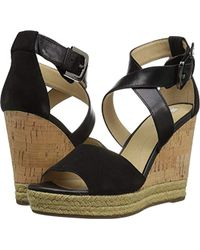 49646c609b06 Lyst - Geox Janira 13 Espadrille Wedge Sandal in Natural
