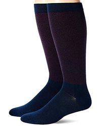 Dr. Scholls American Lifestyle Compression Over The Calf Socks 2 Pair Sockshosiery - Blue