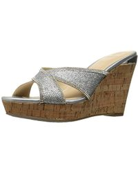 Guess - Eleonora4 Wedge Sandal - Lyst