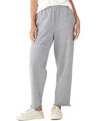 Lucky Brand Straight Leg Sweat Pant - Gray