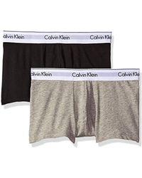 Calvin Klein Modern Cotton Stretch Trunk - Gray