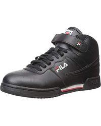 b0d35f20df8c8 F-13v Lea/syn Fashion Sneakers - Black