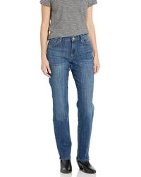 Lee Jeans Relaxed Fit Straight Leg Jeans - Blau