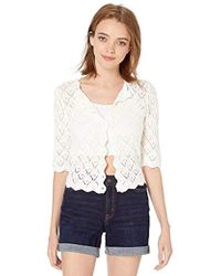 BB Dakota - Summer In The City Drop Needle Sweater Cardigan - Lyst
