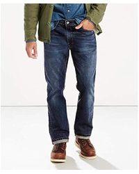 Levi's 513-slim Straight Jean - Blue
