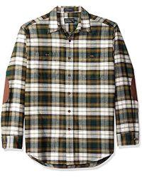 Pendleton - Long Sleeve Button Front Hawthorne Flannel Shirt - Lyst