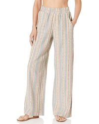 Lucky Brand Lounge Pant Swim Cover-up - Multicolor