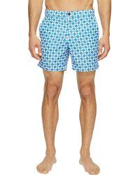 Ben Sherman Mens Retro Geo Print Tailor Swim Shorts