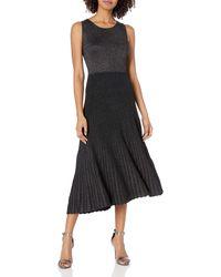 Bailey 44 Reversible Shimmer Midi Dress - Black